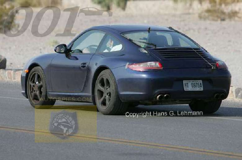 Porsche 911 2008 Model Spy Shots The German Car Blog