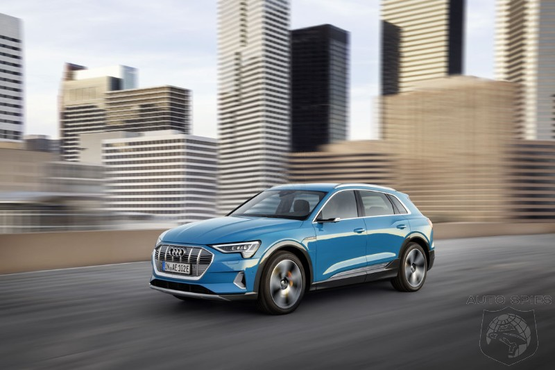 Audi Electrics Not Off To A Good Start In The USA. First E-Tron's FEELING THE BURN?