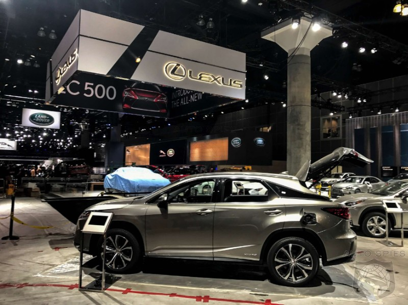 LEAKED! #LAAUTOSHOW Photos Break One Day BEFORE The Show Opens! And We GOT EM!