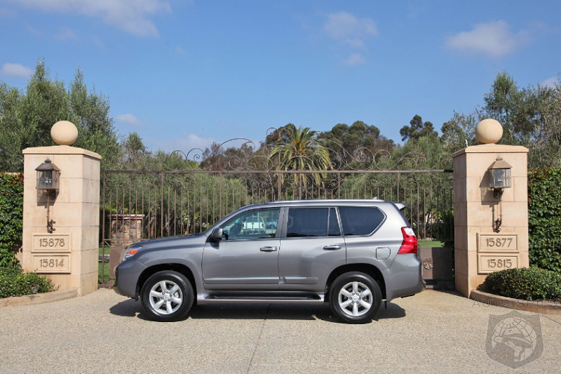 WORLD EXCLUSIVE: First REAL-LIFE Photos And Full Details On The Lexus GX460 and GX470