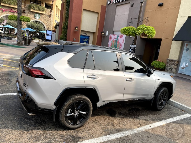 Has Toyota Done Rides Like The Latest RAV4 SO Good There's No Longer A Reason To Step Up To The Lexus Version?