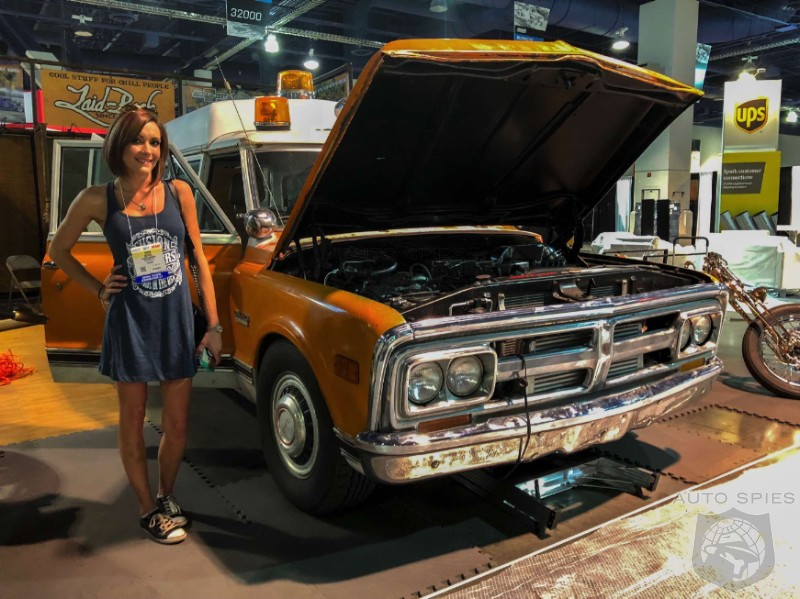 #SEMA2017 Tell Us Why Hipster Millennials Are So In Love With Vintage Rides That Honestly Drive Like Crap?