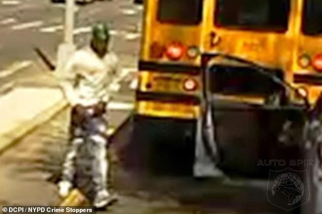 CRIMESTOPPERS! Driver RUNS OVER NY School Bus Driver In BROAD DAYLIGHT. Please Report To Authorities If You Recognize The Car Or Driver!