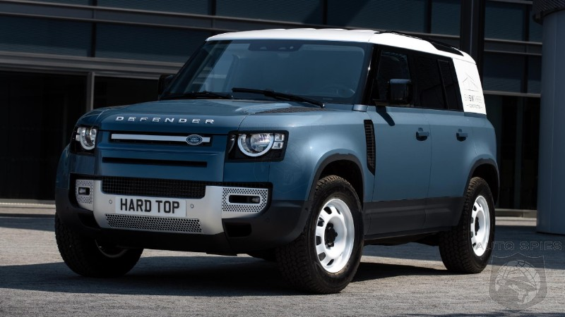 Does The Commercial 'STRIPPIE' Land Rover Defender Hard Top Look BETTER Than The More Plush Versions?