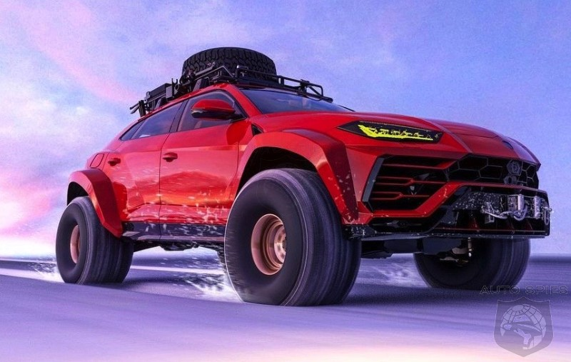 WHASSUP G-MONEY? Lamborghini Urus MAX Off-Roader Coming For The G-Class?
