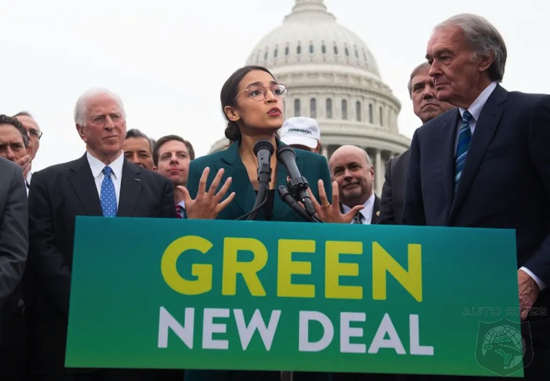 IF AOC/Biden's Green New Deal PASSES With Even HARSHER Carbon Emission Regulations, What Is The Outcome For The USA Economy And Transportation?