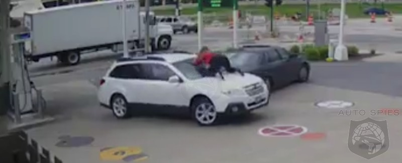 MUST SEE VIDEO! Auto Spies Badass Award Of The Day. Amazing Woman Thwarts Carjacking HERSELF!