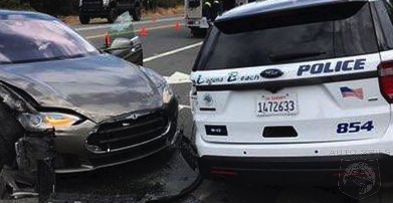 ANOTHER Tesla AutoPilot FAIL? This Time Hitting A POLICE Car?