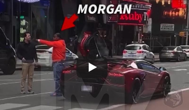 Tracy Morgan Has A 'RUN IN' With A Time Square Pedestrian And Almost Runs Into Them In His Lambo. Then The Sparks Fly!
