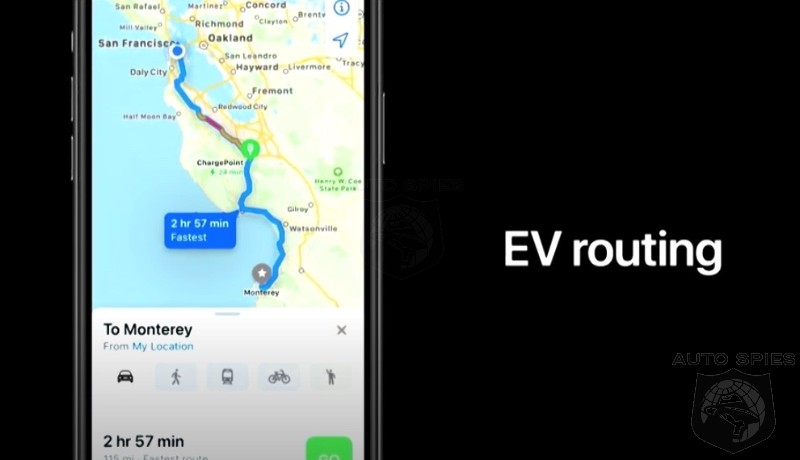 Apple UP's It's CarPlay, Maps And Features Like EV Routing.