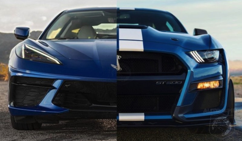 WHICH Car Projects The Image Of American Icon BETTER? CORVETTE Or MUSTANG?