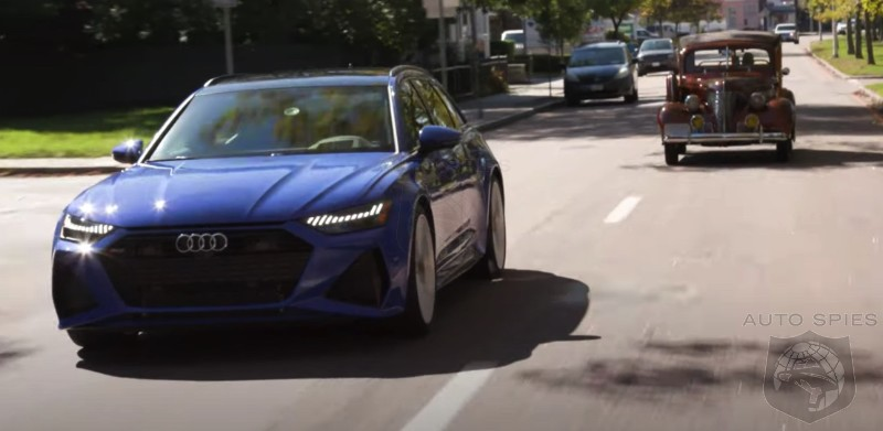 VIDEO REVIEW: Hold The COFFEE. OLD Men In Cars Testing Audi's? Jay Leno Drives The RS6 Wagon.