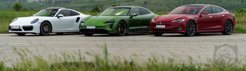 YOU MAKE THE CALL! Would YOU Buy A PORSCHE TAYCAN OR A TESLA AND A 911 And Own The Best Of BOTH Worlds?