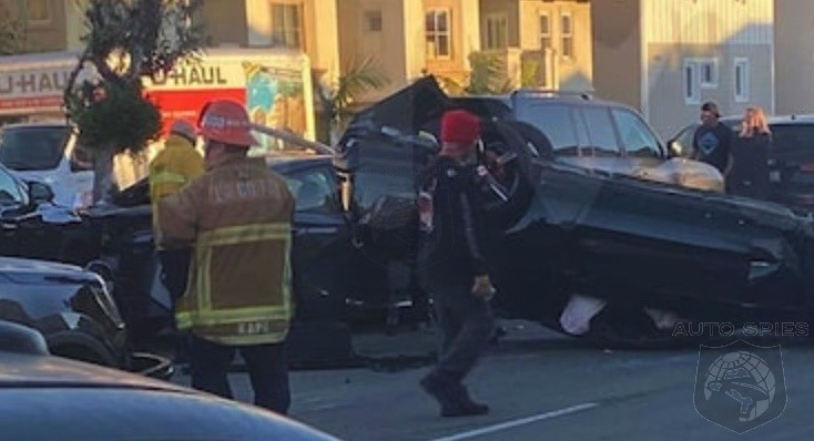VIDEO! Looks Like Some Idiots FLIPPED Over A MAGA Rally In Hermosa Beach. As In Their Vehicles FLIPPING OVER!