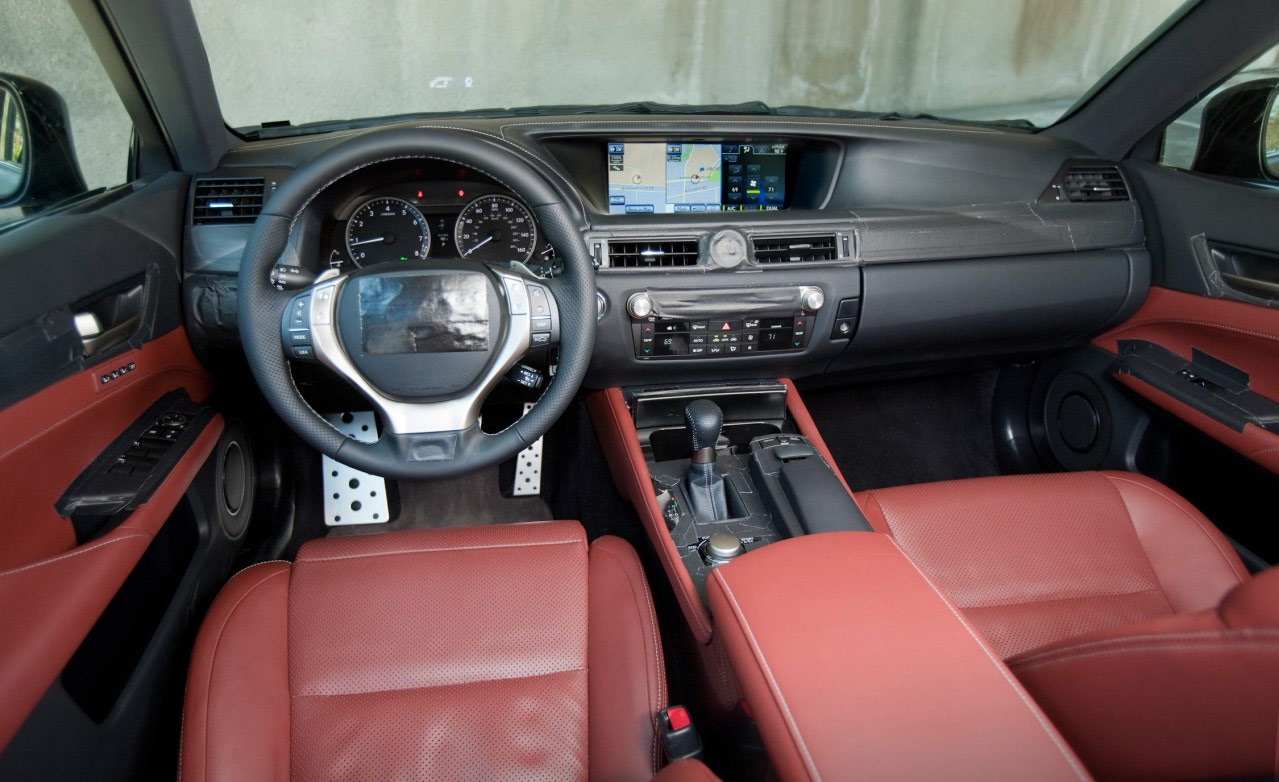 Top 10 most affordable luxury cars autospies auto news - Fill In The Blank 2012 Lexus Gs Interior Shots Reveals The Relentless Pursuit Of ____