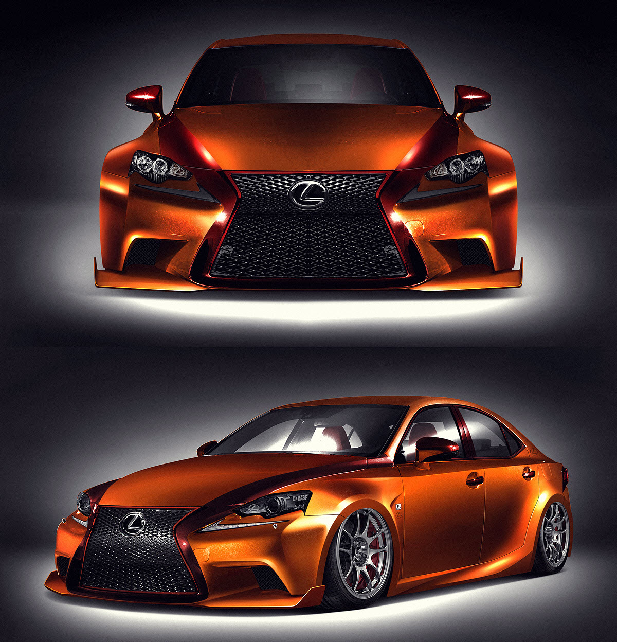 2013 Sema Show Fan Created 2014 Lexus Is 350 To Debut