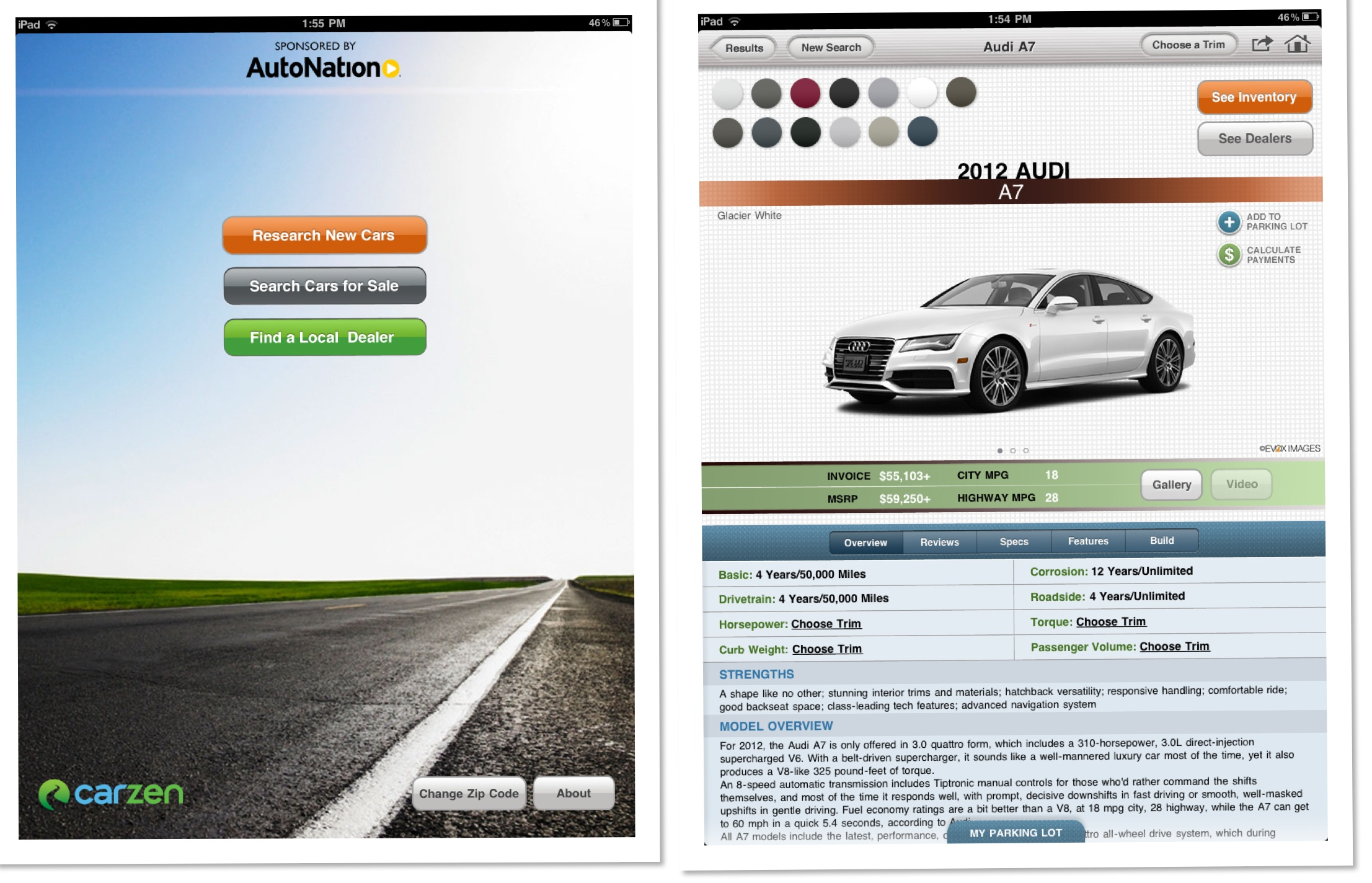 Car Shopping App >> Dealerrater Joins Forces With 1 Ipad Car Shopping App