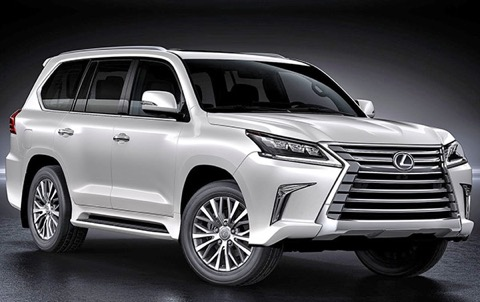 SPIED! 2020 Lexus LX. Is Lexus Giving Others Too Much Of ...