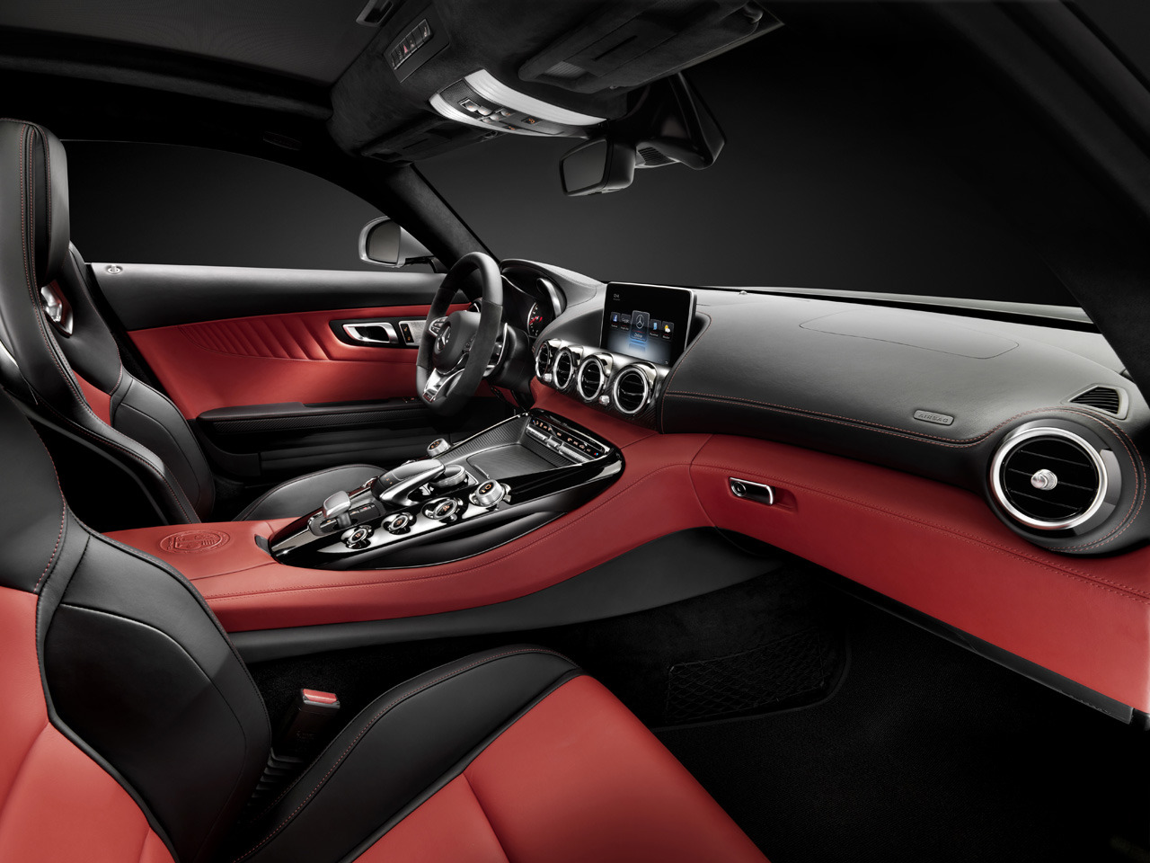 AMG Teases Interior Of Upcoming GT Sports Car
