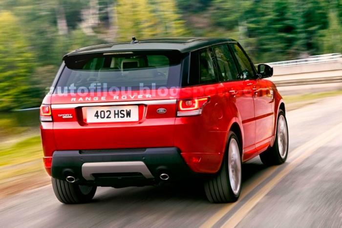 NEW YORK AUTO SHOW: Official 2014 Range Rover Sport Shots Leak Out