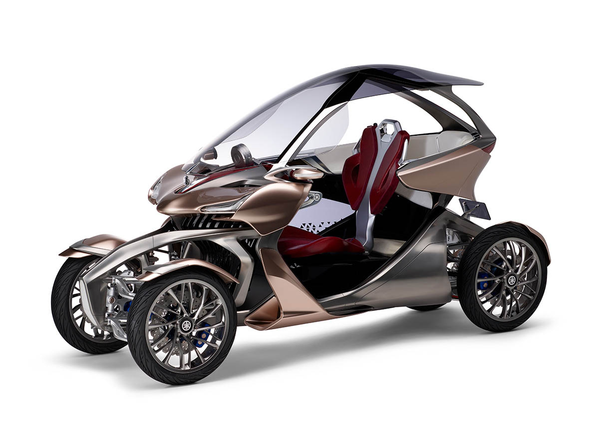 Yamaha's MWC-4 Concept Blurs The Line Between Bike And Car ...