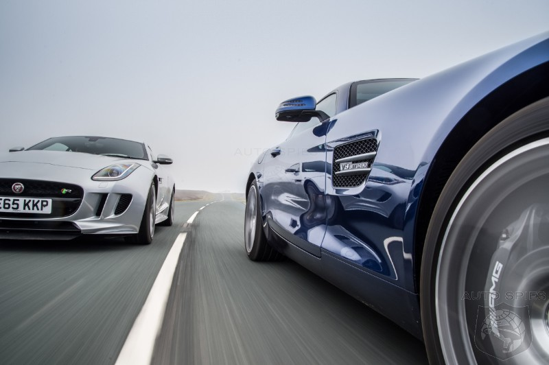 Mercedes-AMG GT v Jaguar F-type R AWD - V8 Sports Car Shootout