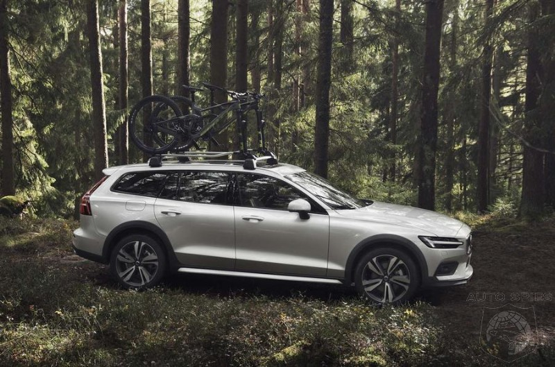 New Volvo V60 Cross Country Target Audi All Road By Having More Off Road Capability