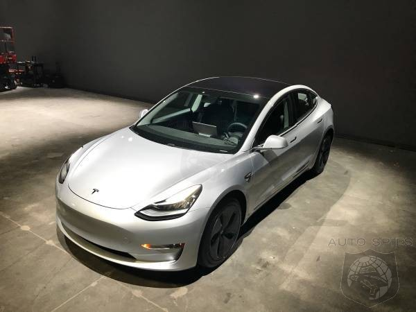 Got That Check Book Open Yet? First USED Tesla Model 3 Hits The Market For Only $150,000