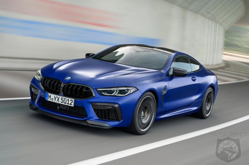The TERMINATOR? BMW To Take On All Comers With The 616HP M8 Competition