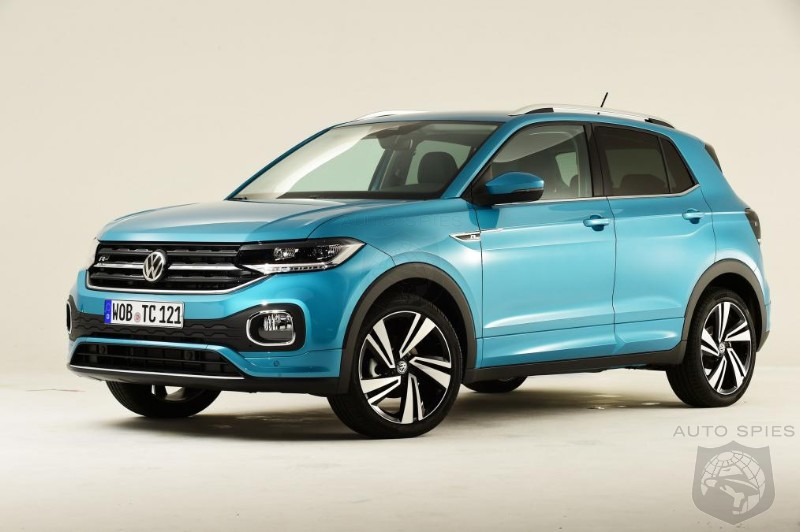Volkswagen Expands Crossover Portfolio With Small T-Cross Crossover
