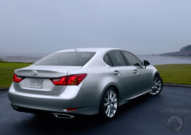 """Gs Auto Sales >> Lexus To Introduce A """"Budget"""" 4 Cylinder GS Model? - AutoSpies Auto News"""