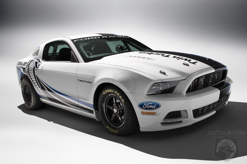 2012 SEMA SHOW: Ford Racing Debuts Twin Turbo Mustang Cobra Jet