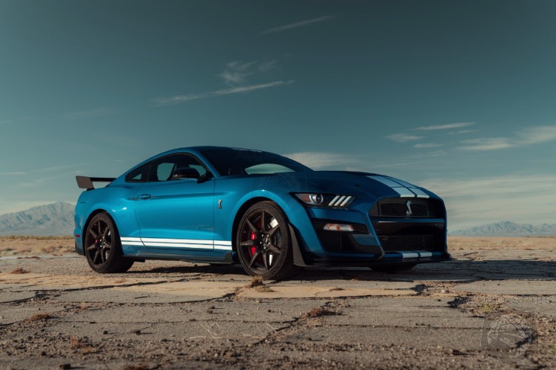 Ford Limits Shelby 2020 GT500 To Only 180 MPH