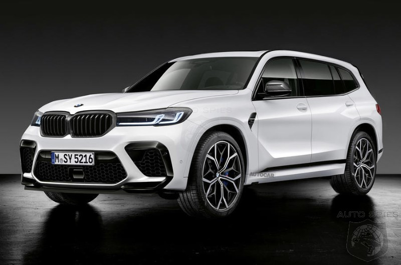 2022 BMW X8 M Hybrid To Lead The Segment With 750 HP V8