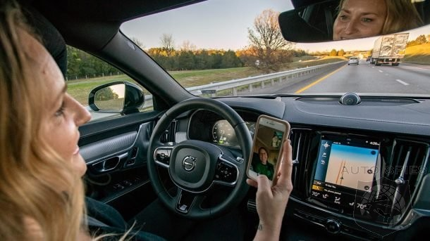 IIHS Study Warns Of Driver False Sense Of Security When Using Autonomous Systems