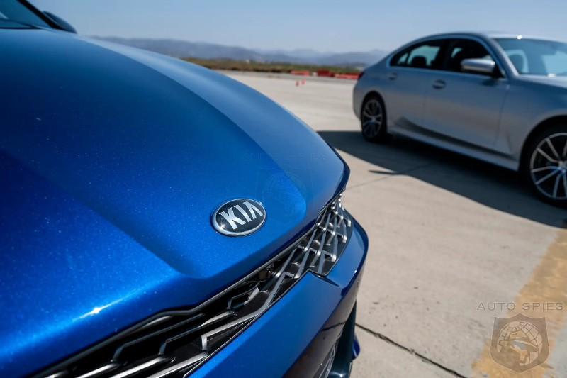 Can The 2021 Kia K5 GT Take On A BMW330i And Win At Anything? - Maybe So