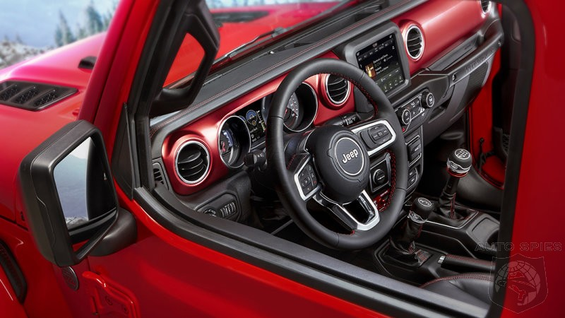 2018 Jeep Wrangler Interior Revealed Along With A Hot New Red Color