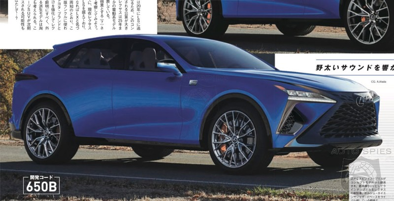 Germans On the Run? Lexus Plotting A LF-1 Crossover In 2021