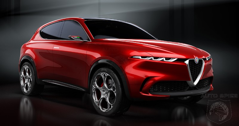 #GIMSSWISS: Alfa Romeo Tonale Concept Would Inject Sexy Into The Boring EV Crossover Market