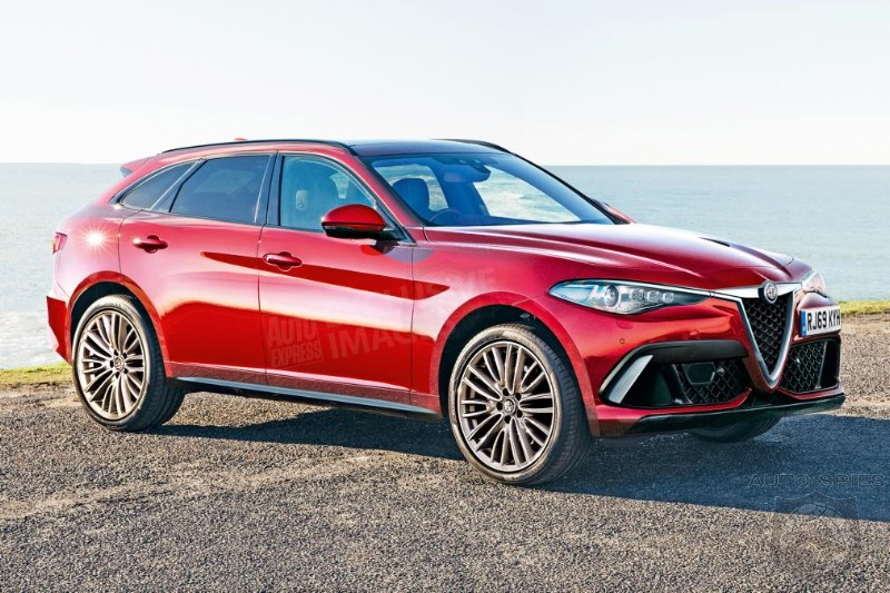 Alfa's New Flagship SUV To Target Audi's Q7 With 400 HP Hybrid Drivetrain