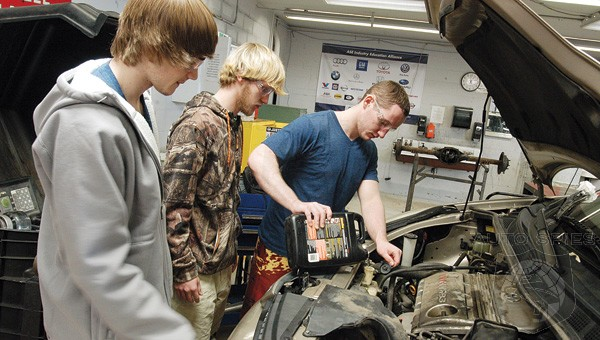 Back To Basics: High School Thinks It About Time To Teach Teens How To Change A Tire And Check Oil