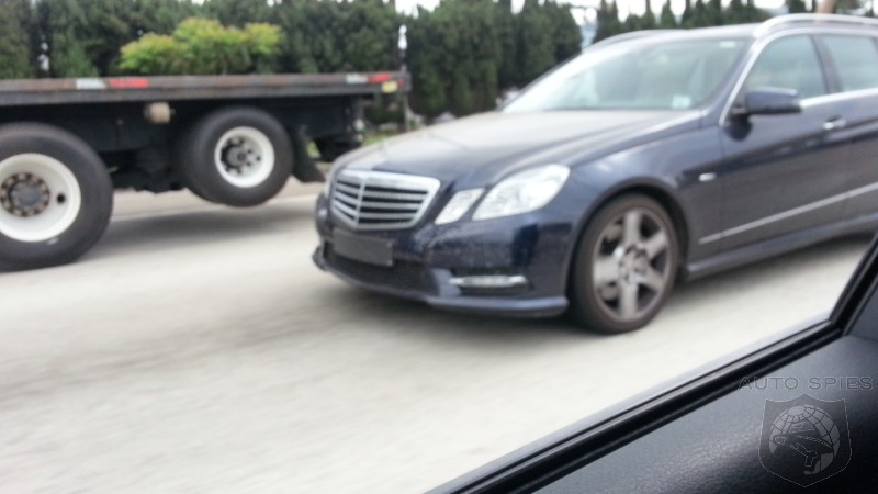 Mystery Benz Caught In The Wild - But What Is It?