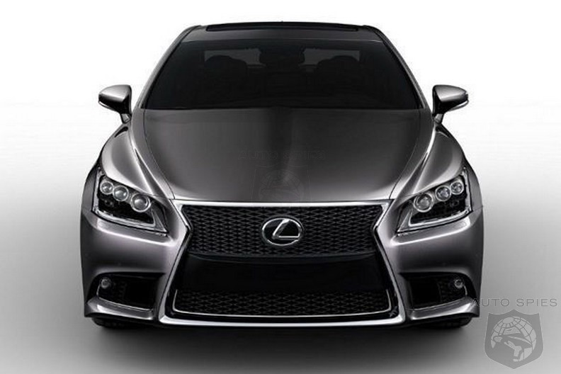 Hello There! Are You The New 2013 Lexus LS?