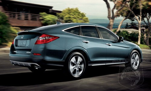 Honda To Drop Awkward Looking Crosstour From The Lineup
