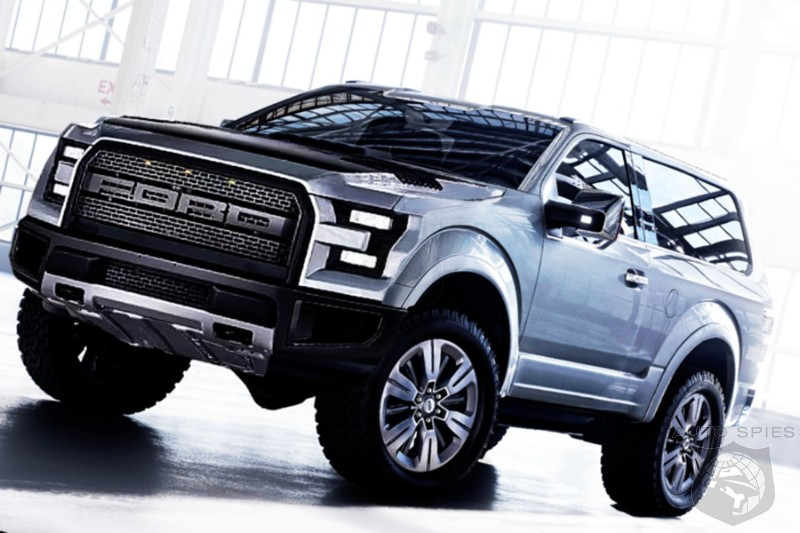 #NAIAS: Ford Mounts First Credible Threat Against The Wrangler - Can The Bronco Tap Into Off Road Gravy Train?