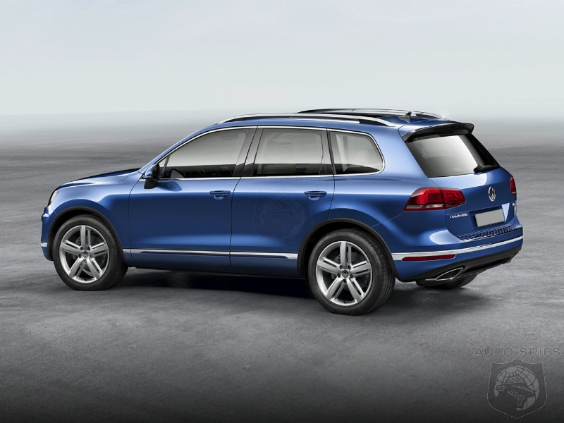 Volkswagen Axes Touareg SUV From The 2018 Model Year