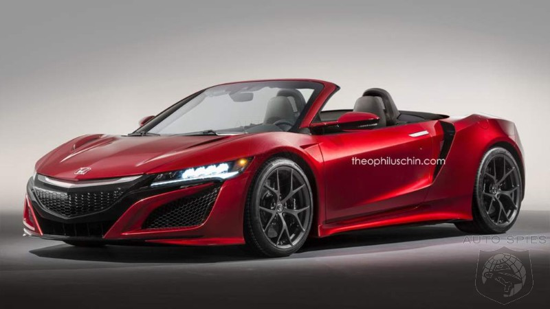 Keep Your Fingers Crossed: Topless NSX Could Debut Sometime This Year