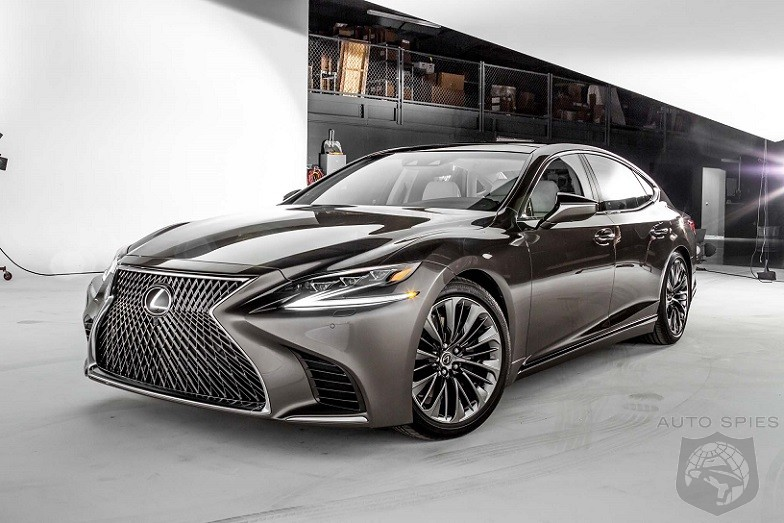 Twin Turbo V6 Transforms The Lexus LS 500 From Walmart Lot Cruiser To A Modern Marvel