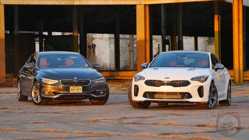 2018 BMW 430i Vs 2018 Kia Stinger - How Do They Stack Up In The Real World?