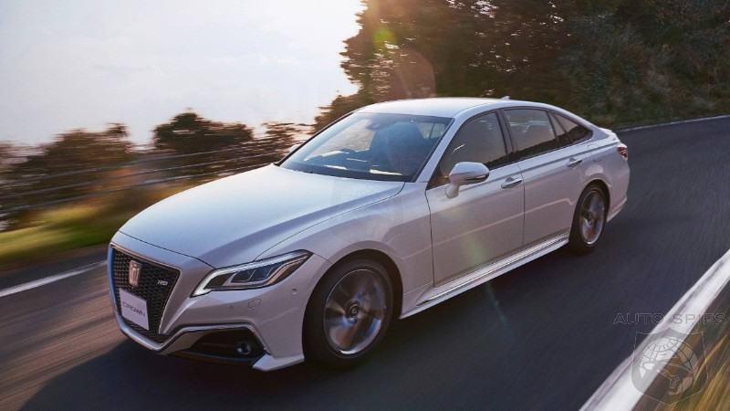 Toyota Crown Flagship Now Infected With The SUV Plague